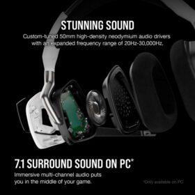 CORSAIR VOID RGB ELITE Wireless Headset White 3
