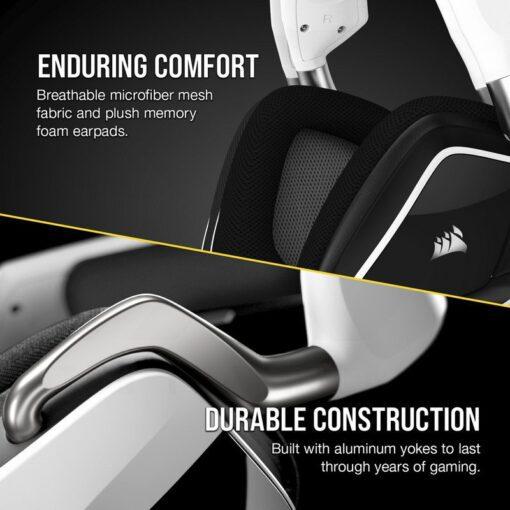 CORSAIR VOID RGB ELITE Wireless Headset White 4