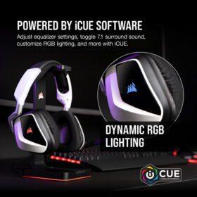 CORSAIR VOID RGB ELITE Wireless Headset White 7