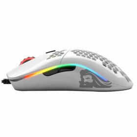 Glorious Model O Minus Gaming Mouse Glossy White 3