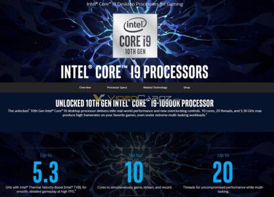 Intel Core i9 10900K Specs 1024x739 1