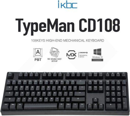 ikbc TypeMan CD108 PBT Doubleshot V2 Keyboard 1