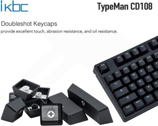 ikbc TypeMan CD108 PBT Doubleshot V2 Keyboard 2