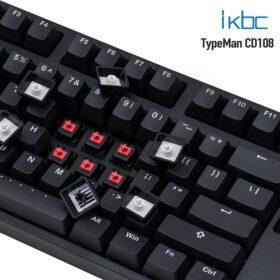 ikbc TypeMan CD108 PBT Doubleshot V2 Keyboard 3