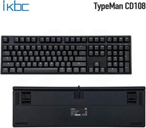 ikbc TypeMan CD108 PBT Doubleshot V2 Keyboard 4