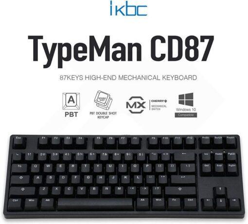 ikbc TypeMan CD87 PBT Doubleshot V2 Keyboard 1