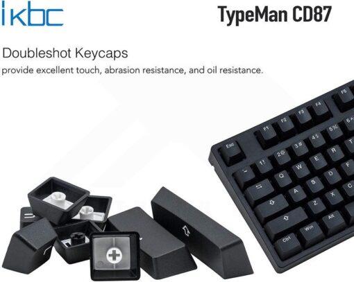 ikbc TypeMan CD87 PBT Doubleshot V2 Keyboard 3