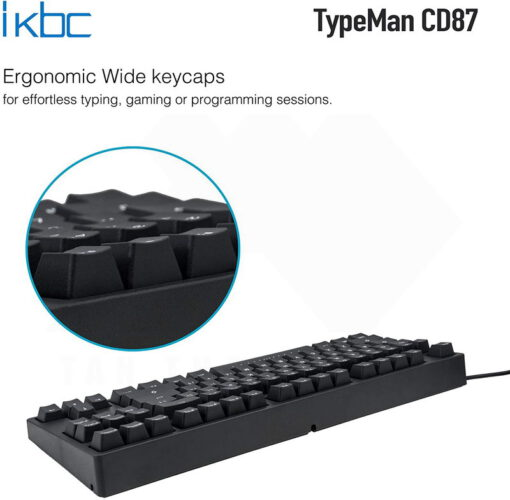 ikbc TypeMan CD87 PBT Doubleshot V2 Keyboard 4