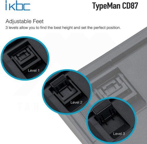 ikbc TypeMan CD87 PBT Doubleshot V2 Keyboard 5
