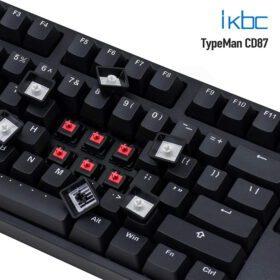 ikbc TypeMan CD87 PBT Doubleshot V2 Keyboard 6