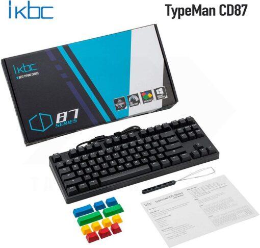 ikbc TypeMan CD87 PBT Doubleshot V2 Keyboard 8