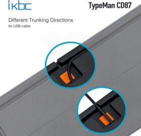 ikbc TypeMan CD87 PBT Doubleshot V2 Keyboard 9