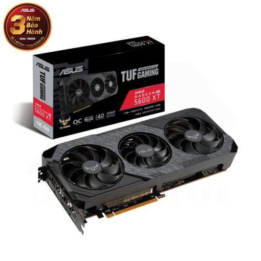 ASUS TUF Gaming X3 Radeon RX 5600 XT EVO OC Edition 6G Graphics Card 1