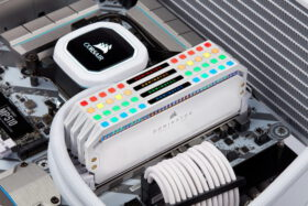CORSAIR DOMINATOR PLATINUM RGB Memory Kit White 5