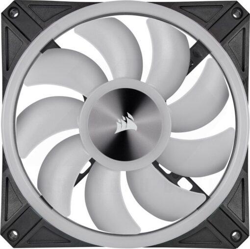 CORSAIR iCUE QL140 RGB Fan – Dual Fan Kit With Lightning Node CORE 7