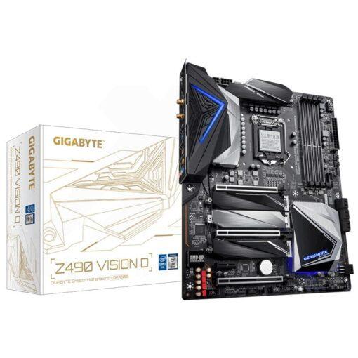 GIGABYTE Z490 VISION D Mainboard 1