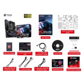 MSI MPG Z490 GAMING CARBON WIFI Mainboard 4