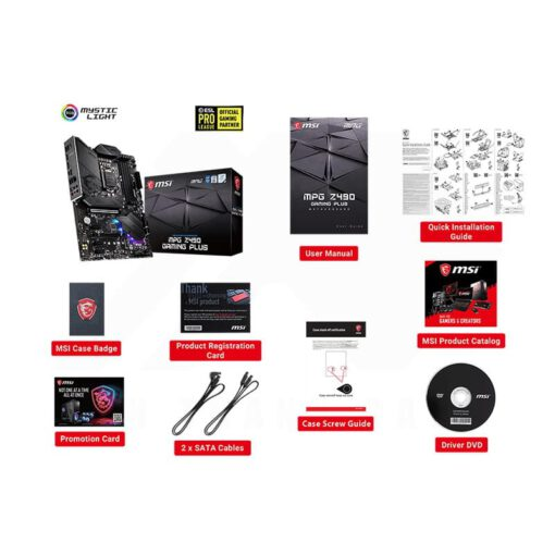MSI MPG Z490 GAMING PLUS Mainboard 4