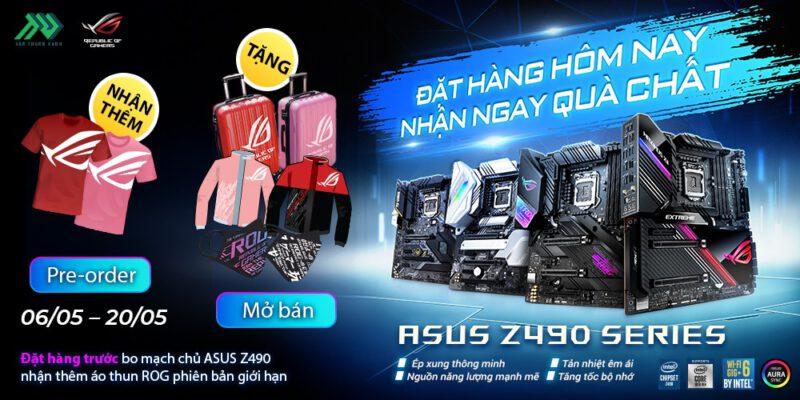 TTD Promotion Pre oder Z490 get Tshirt WebBanner1000x500