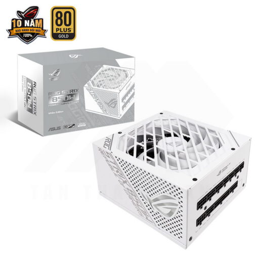 ASUS ROG Strix 850G White PSU – 850W 80Plus Gold Full Modular Sleeve Cable 1