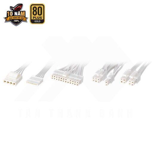 ASUS ROG Strix 850G White PSU – 850W 80Plus Gold Full Modular Sleeve Cable 5