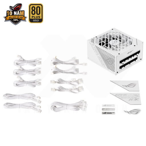 ASUS ROG Strix 850G White PSU – 850W 80Plus Gold Full Modular Sleeve Cable 7
