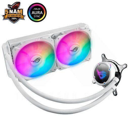 ASUS ROG Strix LC 240 RGB Liquid Cooler – White Edition 1