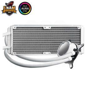 ASUS ROG Strix LC 240 RGB Liquid Cooler – White Edition 2
