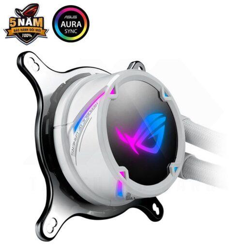 ASUS ROG Strix LC 240 RGB Liquid Cooler – White Edition 3