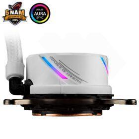 ASUS ROG Strix LC 240 RGB Liquid Cooler – White Edition 4