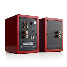 Audioengine A2 Wireless Speaker System – Red 2