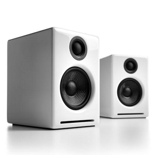 Audioengine A2 Wireless Speaker System – White 1