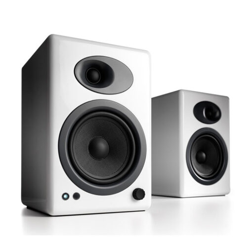 Audioengine A5 Wireless Speaker System – White 1