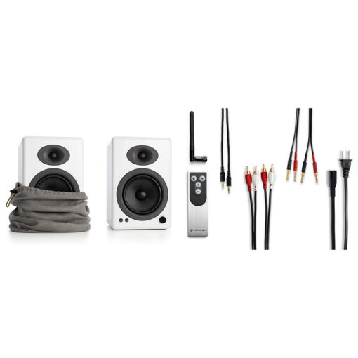 Audioengine A5 Wireless Speaker System – White 2