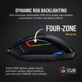 CORSAIR DARK CORE RGB PRO SE Wireless Gaming Mouse 2