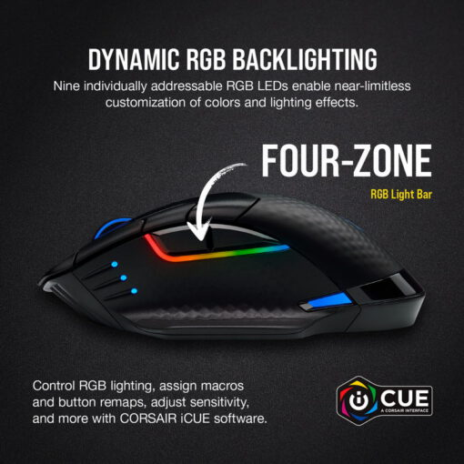 CORSAIR DARK CORE RGB PRO SE Wireless Gaming Mouse 2