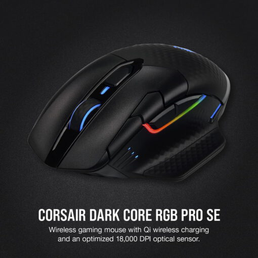 CORSAIR DARK CORE RGB PRO SE Wireless Gaming Mouse 3