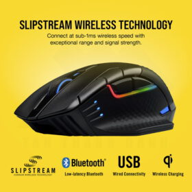 CORSAIR DARK CORE RGB PRO SE Wireless Gaming Mouse 4