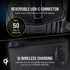 CORSAIR DARK CORE RGB PRO SE Wireless Gaming Mouse 6
