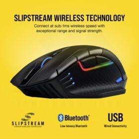 CORSAIR DARK CORE RGB PRO Wireless Gaming Mouse 3