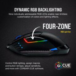 CORSAIR DARK CORE RGB PRO Wireless Gaming Mouse 7