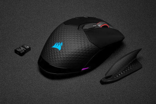 CORSAIR DARK CORE RGB PRO Wireless Gaming Mouse 9