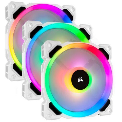 CORSAIR LL120 White RGB Fan 1