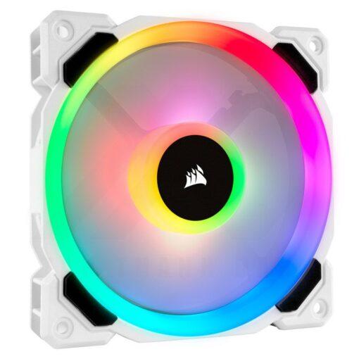 CORSAIR LL120 White RGB Fan 2