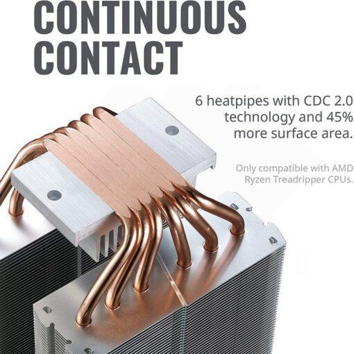 Cooler Master MasterAir MA621P CPU Cooler – TR4 Edition 3