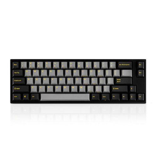 Leopold FC660M PD Ash Yellow Keyboard 1