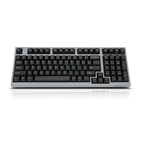 Leopold FC980R PD Charcoal Blue Keyboard 1