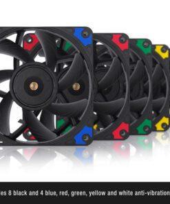 Noctua NF A12x15 PWM chromax.black .swap Fan 3