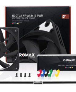 Noctua NF A12x15 PWM chromax.black .swap Fan 4