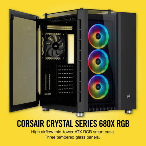CORSAIR Crystal Series 680X Smart Case 2